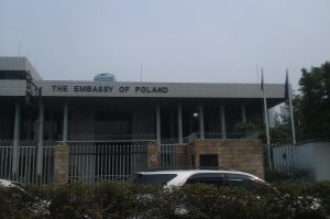 Embassy of Poland. Would be nice to see the Embassy of Estonia one day.