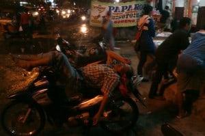 Sleeping in Jakarta style