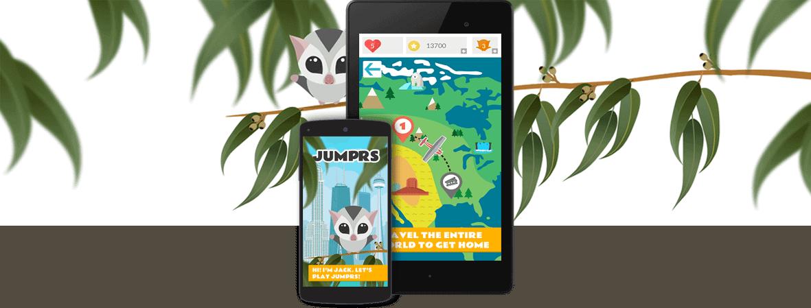 Jumprs Game - Startup Portfolio